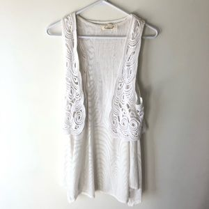 Anthropologie Testament Open Front Tank Top Small